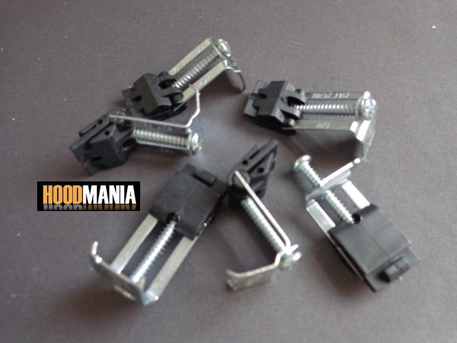 Pack of 6 ASTRACAST Stainless Kitchen Sink Fixing down Clips Clamps